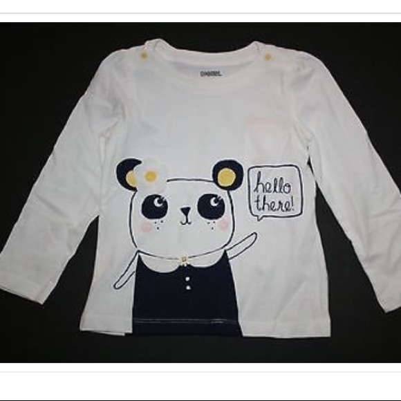 c516ba760 Gymboree Shirts & Tops | New 18m Panda Hello There Tee | Poshmark